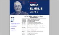 Doug Elmslie, Ward 6 Councillor